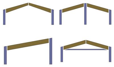 Costruzione strutture ferro acciaio e copertura in legno for Strutture in ferro per case